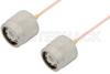 TNC Male to TNC Male Cable 24 Inch Length Using PE-047SR Coax, RoHS -- PE34273LF-24 -Image