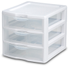 ClearView Mini Three Drawer Unit-S2073 -- S2073