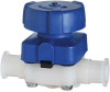 High-Purity Plastic Diaphragm Valves -- GO-98520-12