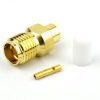 SMA Female Connector Solder Attachment For RG402, RG402 Tinned, .141 SR Cable -- SC3514 -Image