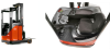 Electric Reach Forklift -- R10/12/14C -- View Larger Image