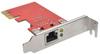 1-Port Gigabit Ethernet (GbE) PCI Express (PCIe) Card, Low Profile -- PCE-1G-01-LP