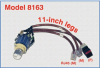 3-Pos. RJ45 CAT5e Switch, No Enclosure 11-inch Legs -- Model 8163