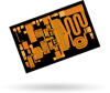 2.7 - 3.7 GHz, 10 Watt GaN Power Amplifier -- TGA2583 -Image