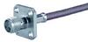 RF Coaxial Panel Mount Connector -- 25SMA-50-2-46