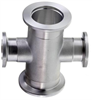 Vacuum Fitting - 4-Way Reducer Crosses ISO-KF -- View Larger Image