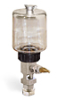 """(Formerly B1681-15), Single Feed Manual Lubricator, 9 oz Polycarbonate Reservoir, 5/8""""-18 Thread for Remote Mounting, 1/8"""" Female NPT Outlet -- B1681-0095B11W -- View Larger Image"""