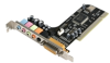 StarTech.com 5 Channel PCI Sound Adapter Card with AC97 3D.. -- PCISOUND5CH