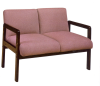 Straight-leg based lounge loveseat -- JC5975