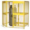 Steel Cylinder Storage Cabinet -- CAB361