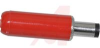 MINATURE POWER PLUG;2 CONDUCTORS;RED HANDL;SOLDER LUGS -- 70214509