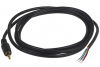 Cable, 1830 mm, 6C 3.5mm 50-00009 plug with ring to stripped tinned, 26 AWG, shielded -- 053-0115R (CA-356CS)