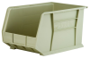 Akro-Mils Akrobin 60 lb Stone Industrial Grade Polymer Hanging / Stacking Storage Bin - 18 in Length - 11 in Width - 10 in Height - 1 Compartments - 30260 STONE -- 30260 STONE