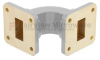 WR-75 Waveguide E-Bend Commercial Grade Using UBR120 Flange With a 10 GHz to 15 GHz Frequency Range -- SMF75EB -Image
