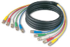 CANARE 5VS033C VIDEO CABLE 5-CHANNEL BNC TO BNC 3M -- CAN5VS033C - Image