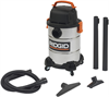 6 Gallon General Purpose Stainless Steel Wet/Dry Vac
