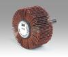 3M Cubitron 747D Coated Ceramic Flap Wheel - 60 Grit - 1 in Face Width - 1 1/2 in Diameter - 80762 -- 051144-80762 - Image