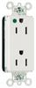 Duplex/Single Receptacle -- PT26362-HGW