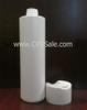 Plastic Bottle, HDPE, Cylinder, White, 32oz -- CPR01103W - 284100320 - Image