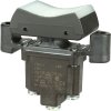 TP Series Rocker Switch, 1 pole, 3 position, Screw terminal, Flush Panel Mounting -- 1TP1-1 -- View Larger Image