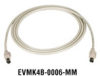 4-Pin Mini DIN Cable, 6-ft. (1.8-m) -- EVMK4B-0006-MM - Image