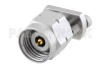 2.4mm Male Connector Clamp Attachment Vertical Launch PCB, Removable Stripline Launch -- PE45456 -Image