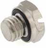 1/4-28 Threaded Screw Plug -- MSP-1428-316 - Image