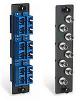 High Density Fiber Optic Adapter Panels - BlackBox -- BB-JPM421A -- View Larger Image