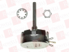 HONEYWELL 58C12K ( (PRICE/EA) WIREWOUND POTENTIOMETER, 2KOHM, 5%, 4W; PRODUCT RANGE:58C SERIES; TRACK RESISTANCE:2KOHM; TRACK TAPER:LINEAR; NO. OF TURNS:1TURNS; POWER RA ) -- View Larger Image