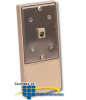 Suttle Modular Wall-in-Stall Jacks with 1 Jack Wired.. -- 631A