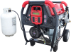 Triple-Fuel Troy-Bilt 10,500 Watt Generator