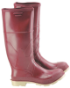Onguard Superpoly 85302 Brown/Off-White 10 Chemical-Resistant Boots - 16 in Height - PVC/Urethane Upper and Steel Toe Cap - 791079-10624 -- 791079-10624 - Image