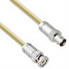 Teflon Jacket Cable Assembly TRB 3-Slot Plug to 3-Lug Cable Jack .236
