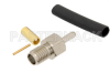 SSMA Female Connector Solder Attachment For RG178, RG196 -- PE44404 -Image