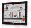 """IEI DM-F19A/PC-R20 ( 19"""" 250 CD/MSQUARED SXGA LCD MONITOR, ALUMINUM DIE CASTING FRONT PANEL, BLACK COLOR, W/ USB PROJECTED CAPACITIVE TOUCH SCREEN, 9 ~36V DC INPUT, R20 ) -Image"""