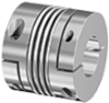 ECOLOC Backlash-Free Metal Bellows Coupling -- 5075 - Image