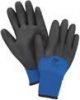 North Cold Grip NF11HD Blue 9 Polyurethane Cold Condition Gloves - PVC Foam Palm Only Coating - Nylon Insulation - Rough Finish - NORTH NF11HD/9L -- NORTH NF11HD/9L