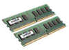 CRUCIAL 2GB KIT 2X1GB DDR2 PC2-5300 667MHZ 240PIN DIMM UNB -- CT2KIT12864AA667