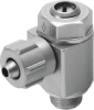 One-way flow control valve -- GRLA-1/8-PK-4-B -Image