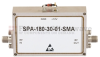 12 GHz to 18 GHz, Medium Power Broadband Amplifier with 1 Watt, 33 dB Gain and SMA -- SPA-180-30-01-SMA - Image