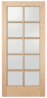 Authentic Wood Glass Panel Exterior Door Series - Image