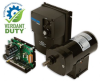 107 Series 3-Phase Inverter Duty 230V Gearmotor -- 017-107-0007 - Image