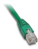 ETHERNET PATCH CABLE, CAT5E STP, 10FT (3.0m), GREEN -- C5E-STPGN-S10 - Image