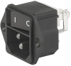IEC Appliance Inlet C14 with Line Switch 1-pole -- KEB1 -Image