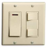 Switch,Triple Function,Ivory,120 V -- 5C999