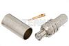 MCX Plug Connector Crimp/Solder Attachment For RG58 -- PE4880 -Image