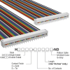 Rectangular Cable Assemblies -- H6MMS-4036M-ND -Image