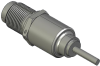 Honeywell Harsh Application Aerospace Proximity Sensor, HAPS Series, Inline cylindrical threaded form factor, 2,50 mm/3,50 range, 3-wire current sinking output near/fault/far, 213,36 cm [84.0 in] pigt -- 1PCTD3AHG1-000 -- View Larger Image