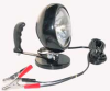 12 million candlepower spotlight with 200 lb magnetic base with battery clamps - HML-4-200LB-BC -- HML-4-200LB-BC