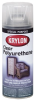 Krylon 70061 Clear Satin Alkyd Enamel Paint - 11 oz Aerosol Can - 11 oz Net Weight - 07006 -- 724504-07006 -- View Larger Image